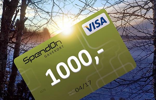 spendon visa gavekort bensinstasjon